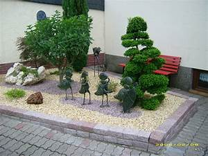 idee deco jardin avec galets With deco jardin avec galets