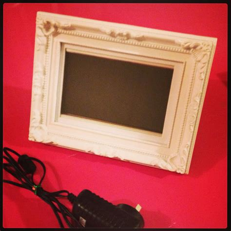 cheapest frame digital cheap crappy digital photo frame turned into a gorgeous