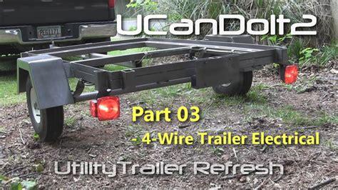 utility trailer   pin trailer wiring  diagram