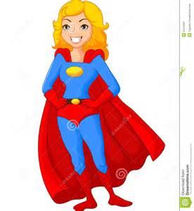 Female Superhero Cartoon