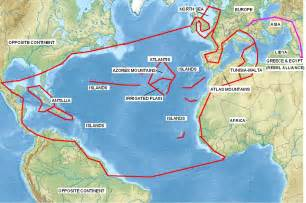 North Atlantic Islands Map