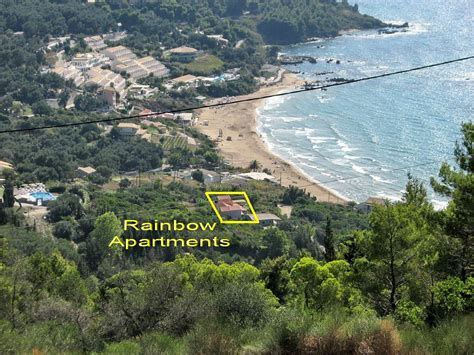 Pelekas beach apartments Rainbow   Relaxing holidays at