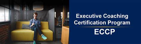 executive coaching certification program eccp