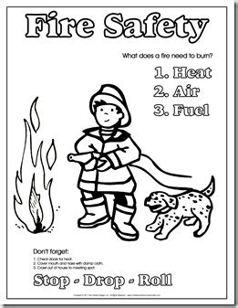 fire safety worksheets for preschoolers kindergarten safety theme week confessions of a 226