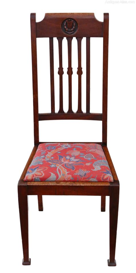 dining chairs set of 6 set of 6 mahogany dining chairs nouveau c1915