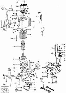 Dewalt D26450 Random Orbital Sander Parts  Type 1  Parts