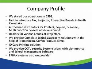 company profile With security company profile template