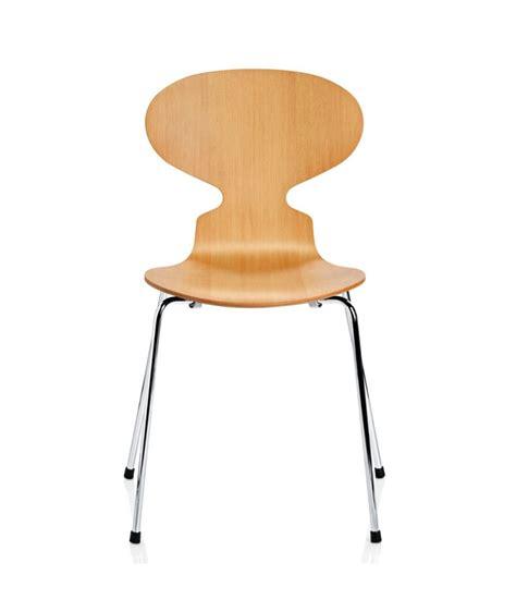 chaise danoise chaise fourmi design arne jacobsen pour fritz hansen la
