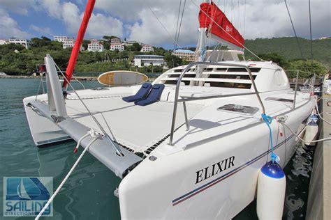 elixir crewed catamaran charter virgin islands