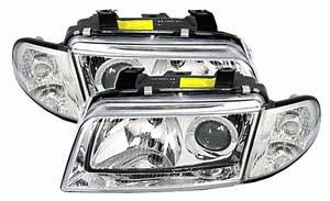 A4 B5 Scheinwerfer : depo xenon scheinwerfer set klarglas f r audi a4 b5 ebay ~ Kayakingforconservation.com Haus und Dekorationen