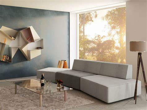 sofa  grau  wohnzimmer mit designer couch
