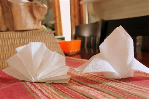 comment plier des serviettes de table en papier facile id 233 es pliage serviettes papier