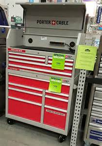 Kobalt Storage Cabinet Accessories by Hands On Porter Cable Tool Storage Combo Is Inexpensive