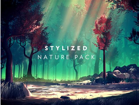 stylized nature pack asset store