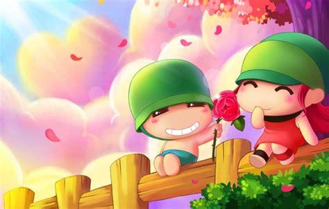 Anime Valentines Day Wallpaper - anime s day wallpaper wallpapersafari