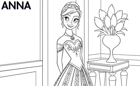 Coloring Frozen All by All The Disney Frozen Characters Coloring Pages Only