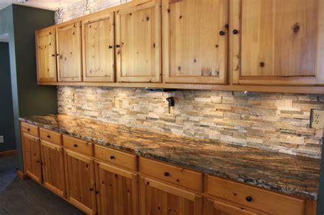rustic kitchen backsplash tile kitchen backsplashes tile glass rustic kitchen chicago by midwest