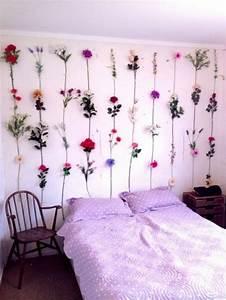 decoration chambre a coucher pour accueillir le printemps With chambre bébé design avec tisane de fleurs