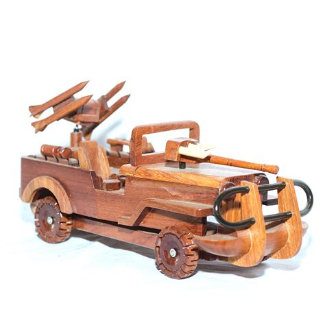 military jeep with gun wooden military jeep with gun model mahogany