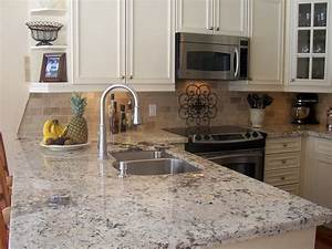 15 best pictures of white kitchens with granite With granite for kitchen