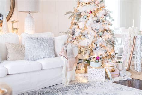 deko weihnachten ideen wohnen in wei 223 feiern in wei 223 pastellfarbene deko weihnachten weihnachtsdeko ideen zenideen