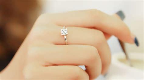 On Trend: Minimalist Engagement Rings