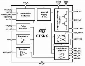 Stknx Miniature Knx Transceiver