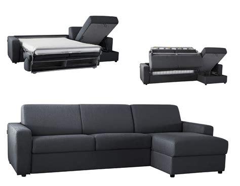 canapé convertible tissu pas cher canapé lit d 39 angle réversible microfibre ouverture
