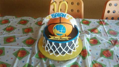golden state warrior cake kids cakes pinterest