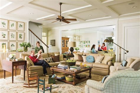 southern living family rooms make room for family 106 living room decorating ideas
