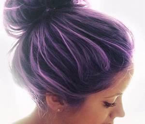 Purple Semi Permanent Hair Color Best Hair Color 2017