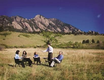 Meeting Outside Office Run Evenements Meetings