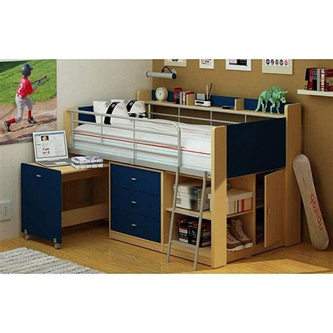 boys loft bed with desk charleston loft bed with desk navy and natural boys