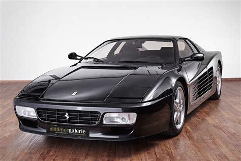 classic ferrari testarossa 1993 ferrari testarossa 512 tr