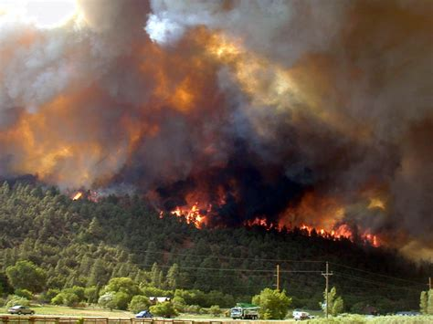 durango  missionary ridge fire   photo picture