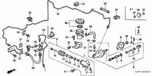 Clutch Master Cylinder For 1998 Honda Cr