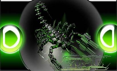 Scorpion Cyber Desktop Wallpapers Background 3d Scorpio