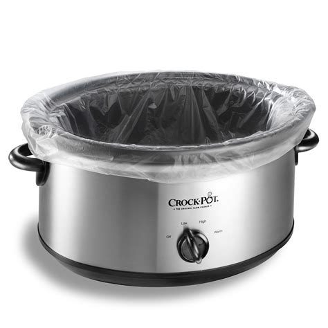 pot crock cooker liners slow accessories