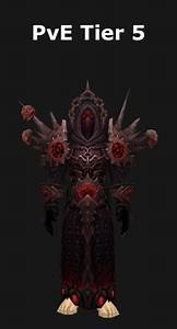 Transmogrification Warlock PvE Tier 5 Set WoD 612