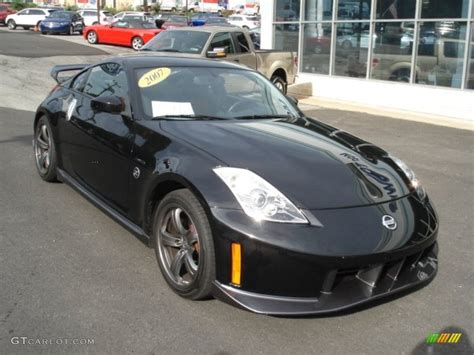 Magnetic Black Pearl 2007 Nissan 350z Nismo Coupe Exterior