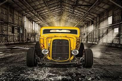 Rod Classic Yellow Retro Wallpapers Cars Rat