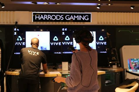 Virtual Reality Heading To Harrods With Htc  Invision Game Community