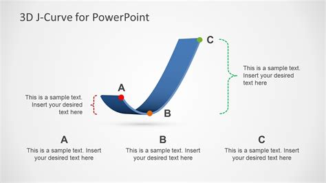 curve template  powerpoint slidemodel