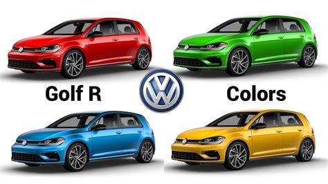 2019 Volkswagen Golf R by 2019 Volkswagen Golf R Colors Configurator
