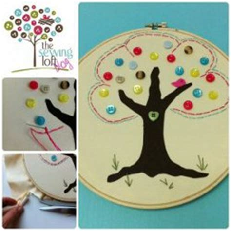 simple button tree art favecraftscom