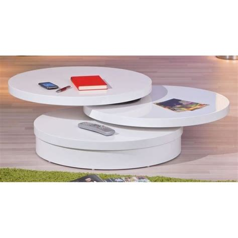 table basse ronde laquee table basse fly images