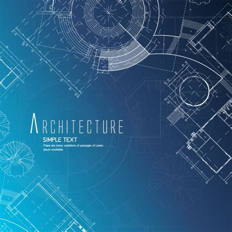 Architecture Background Design Vector  Free Download
