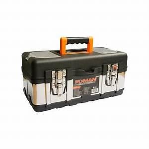 Caisse Metal Rangement : caisse outils en plastique et m tal mallette de rangement pour outils casier de rangement ~ Teatrodelosmanantiales.com Idées de Décoration
