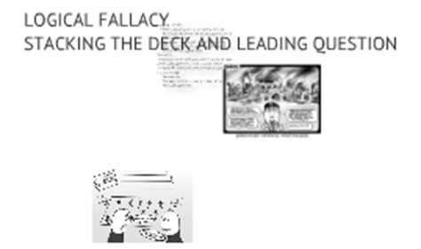 stacking the deck fallacy commercial garrett samuelson on prezi