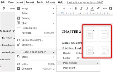Gewusst wie: Hinzufügen von Seitenzahlen zu Google Docs ...